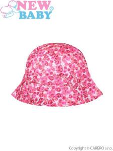 Letní dětská kšiltovka New Baby Sweet Pets tmavě růžová  b125822156