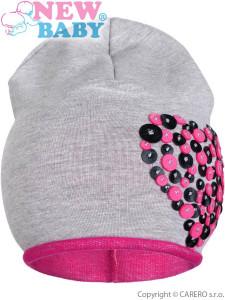 Letní dětská kšiltovka New Baby Little Princess tmavě růžová  12a3966c44